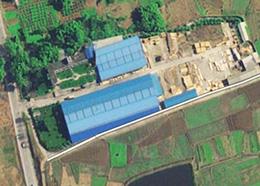 工厂卫星航拍图