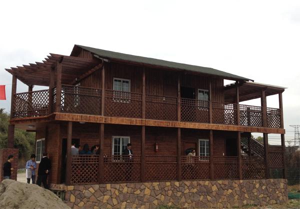 首页 恒希产品 木结构房屋 仿古木屋     木结构的分类----现代木结构