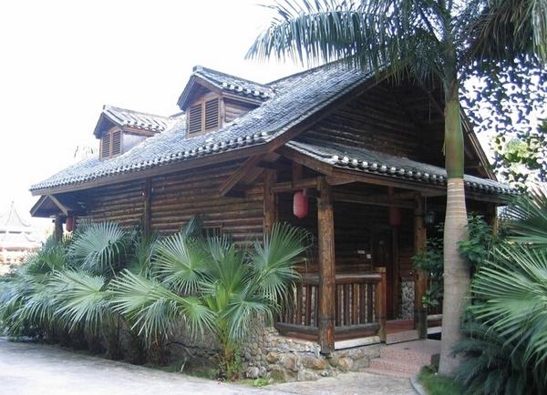 木结构防腐 防腐木屋 中式仿古木屋 藏式仿古木屋   .
